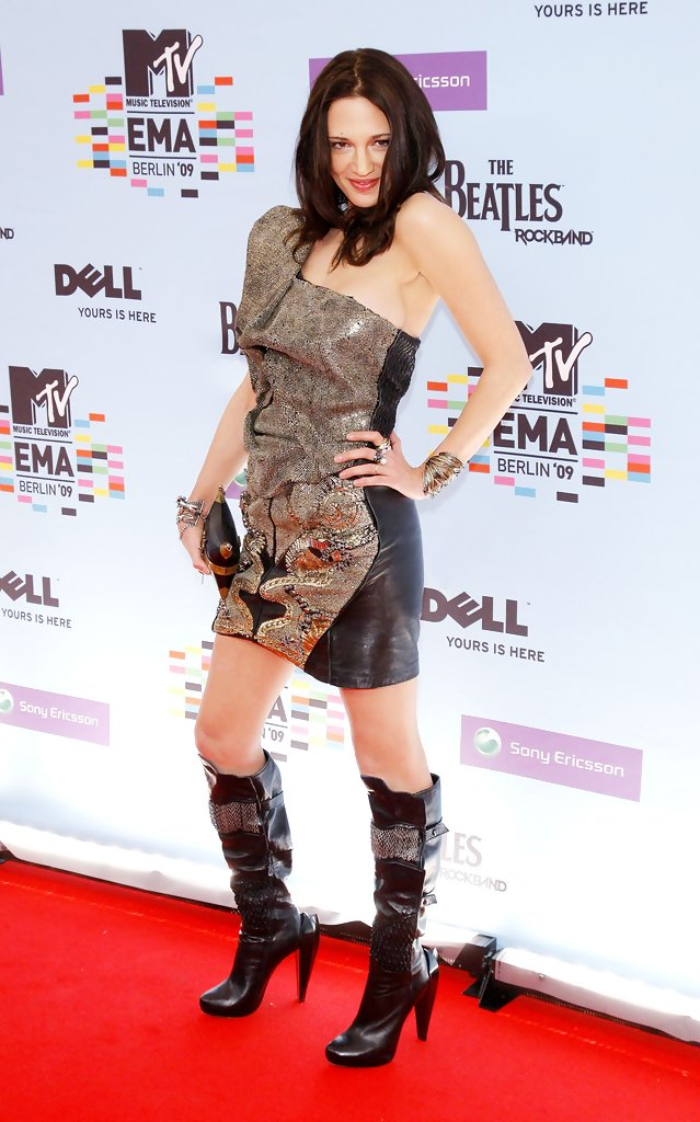 Asia Argento Knee High Boots Knee High Boots Lookbook