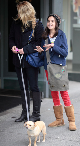 Leven Rambin And Bailee Madison Being Pals In Vancouver
