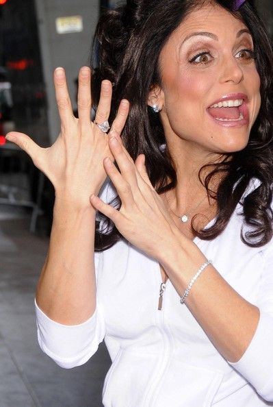 Bethenny Frankel Diamond Ring Bethenny Frankel Jewelry Looks