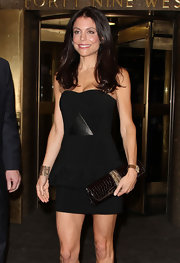 Bethenny Frankel made an appearance on 'Late Night With Jimmy Fallon' wearing her hair in smooth layers.