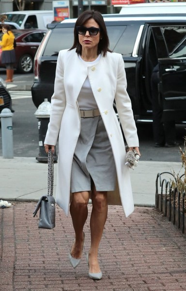 Bethenny Frankel Wool Coat