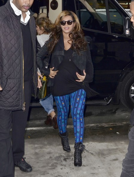 Beyonce Knowles Leggings