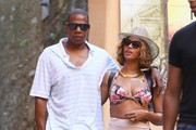 Beyonce Knowles String Bikini