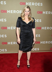 Emily Procter's shirred LBD had a lot of sophistication mixed with a bit of sexiness.