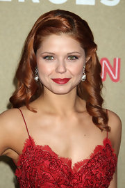 Anna Trebunskaya wore her coppery tresses in long spiral curls at the 2011 CNN Heroes: An All Star Tribute.
