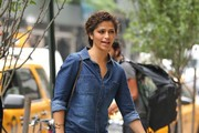 Camila Alves Leather Shoulder Bag