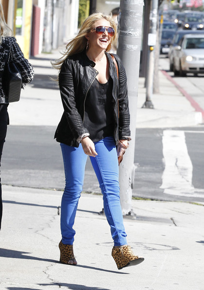 Cassie Scerbo Wedges