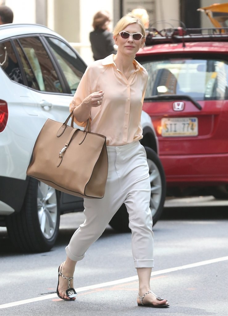 Cate Blanchett Is All Smiles in NYC