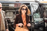 Catherine Zeta-Jones Leather Tote