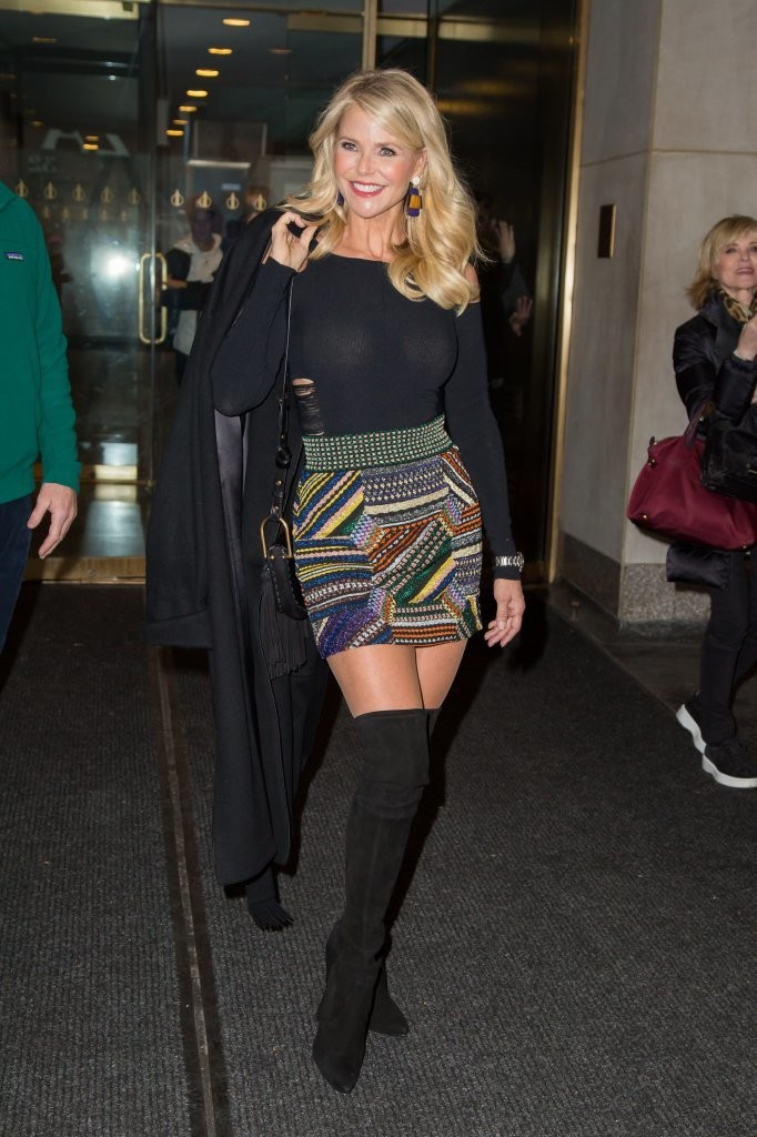 February 2017 The Style Evolution Of Christie Brinkley
