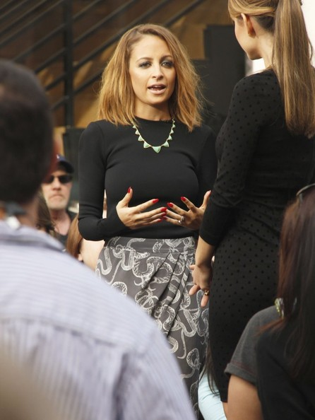 More Pics of Nicole Richie Harem Pants (5 of 6) - Nicole Richie Lookbook - StyleBistro