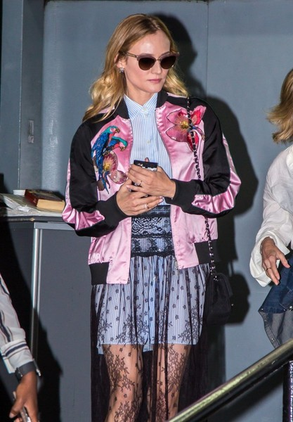 More Pics of Diane Kruger Pumps (1 of 7) - Diane Kruger Lookbook - StyleBistro