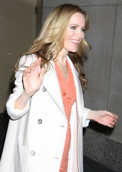 More Pics of Leslie Mann Wool Coat (1 of 6) - Wool Coat Lookbook - StyleBistro