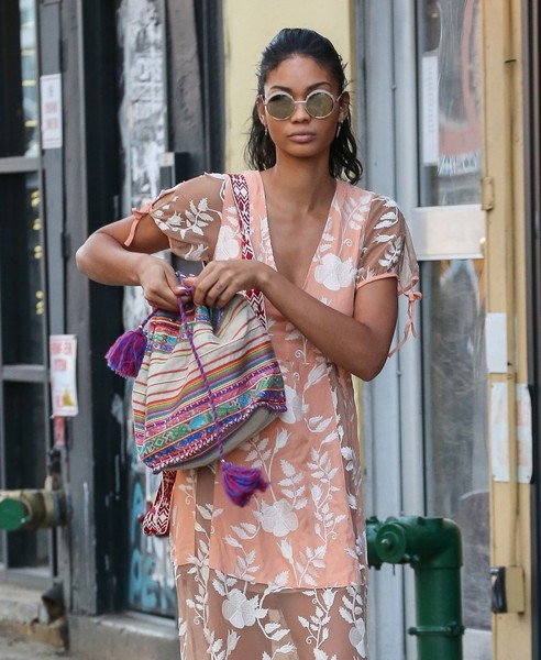 Chanel Iman Round Sunglasses