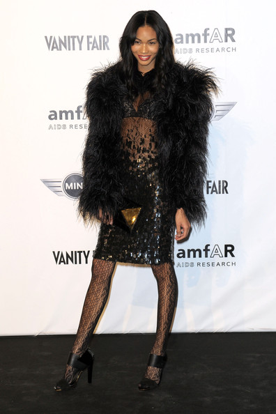 Chanel Iman Tights