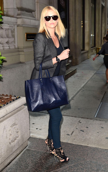 More Pics of Charlize Theron Evening Sandals (1 of 38) - Charlize Theron Lookbook - StyleBistro