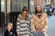 Chris Robinson and Ryder Robinson Photo