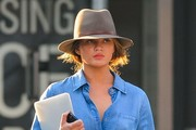 Chrissy Teigen Walker Hat