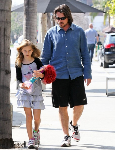 More Pics of Christian Bale Button Down Shirt (1 of 13) - Christian Bale Lookbook - StyleBistro