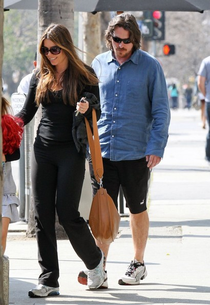 Sibi Blazic looked more like she was headed to the gym than a lunch date at Katsuya in her black sports pants and sweater combo.