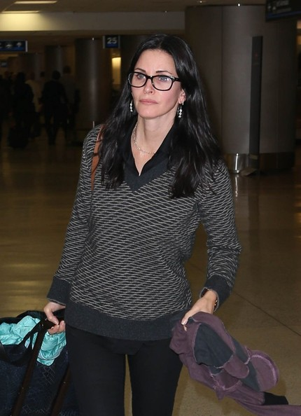 More Pics of Courteney Cox Quilted Leather Bag (1 of 22) - Quilted Leather Bag Lookbook - StyleBistro