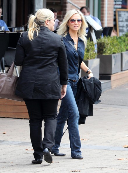 More Pics of Danielle Spencer Bootcut Jeans (11 of 12) - Danielle