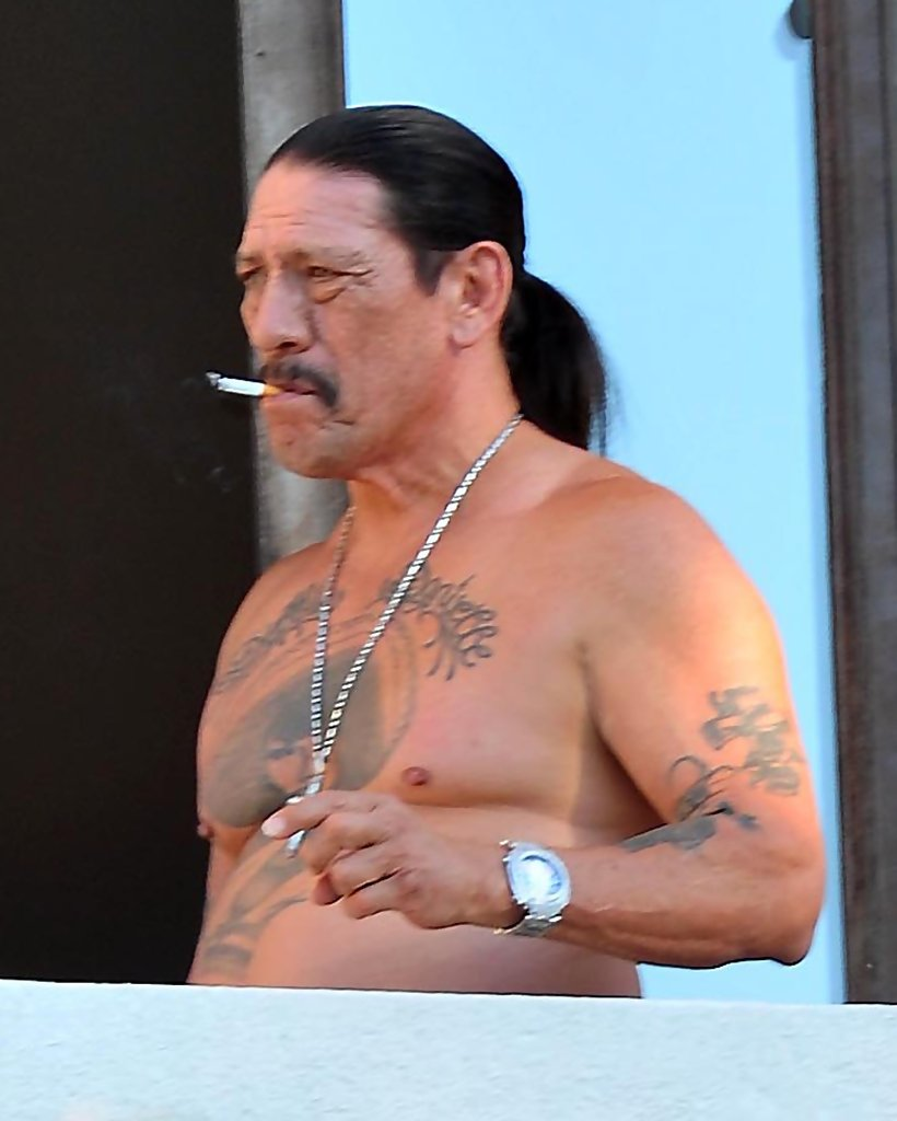 More Pics of Danny Trejo Bird Esmeralda M. Trejo