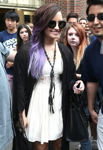 Demi Lovato Beaded Statement Necklace