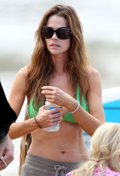 Denise Richards Oversized Sunglasses