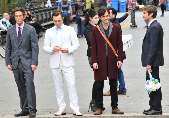 'Gossip Girl' Films Scenes In NYC