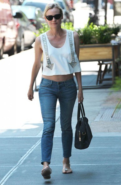 More Pics of Diane Kruger Skinny Jeans (2 of 22) - Diane Kruger Lookbook - StyleBistro
