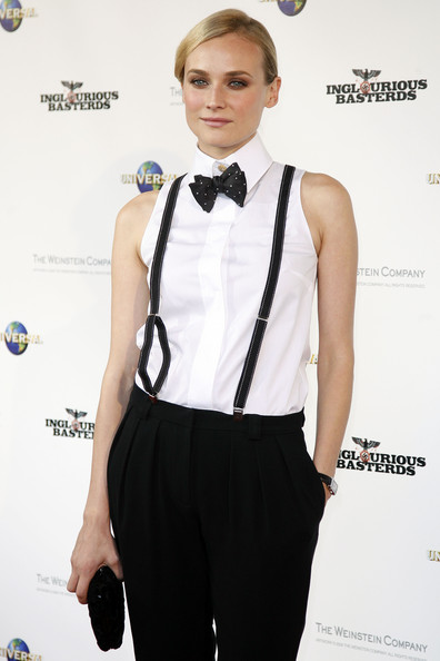 More Pics of Diane Kruger Bowtie (1 of 14) - Diane Kruger Lookbook - StyleBistro