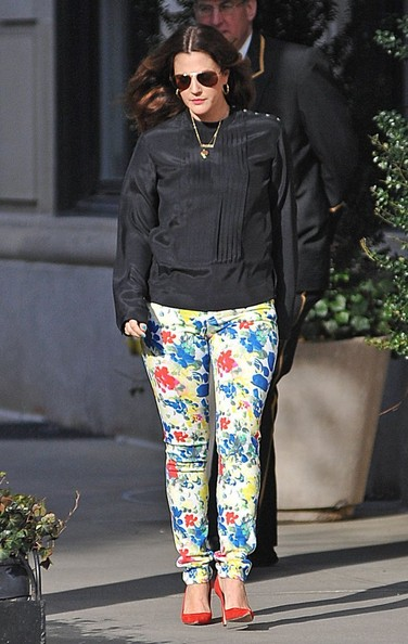 Drew Barrymore Print Pants