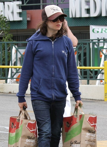 More Pics of Ellen Page Hoodie (1 of 8) - Ellen Page Lookbook - StyleBistro
