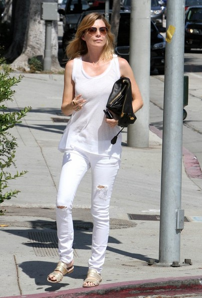 More Pics of Ellen Pompeo Ripped Jeans (1 of 27) - Jeans Lookbook - StyleBistro