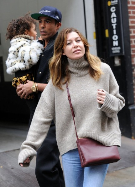Ellen Pompeo Spends the Day with Family