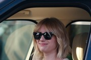 Emma Roberts Square Sunglasses