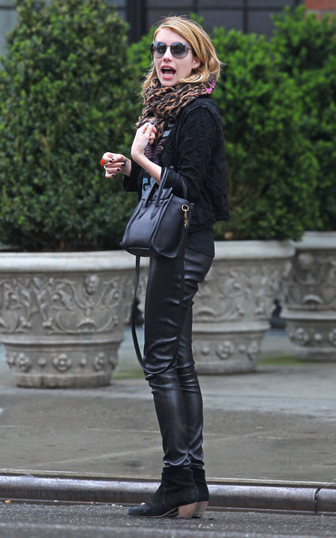 More Pics of Emma Roberts Ankle Boots (2 of 12) - Ankle Boots Lookbook - StyleBistro