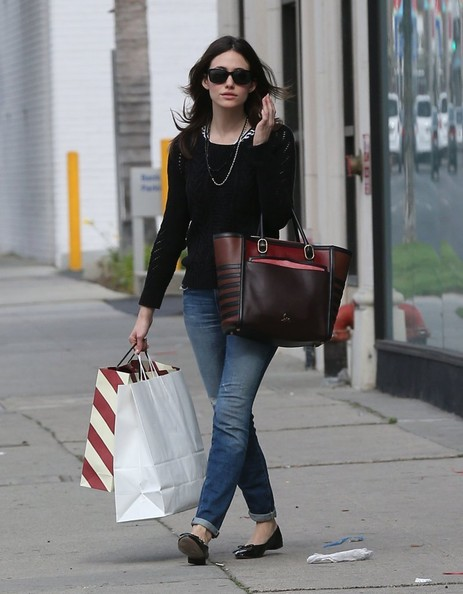 Emmy Rossum Crewneck Sweater