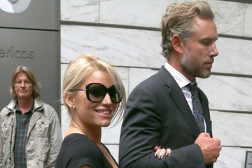 Eric Johnson Jessica Simpson Jessica Simpson and Eric Johnson Out in NYC