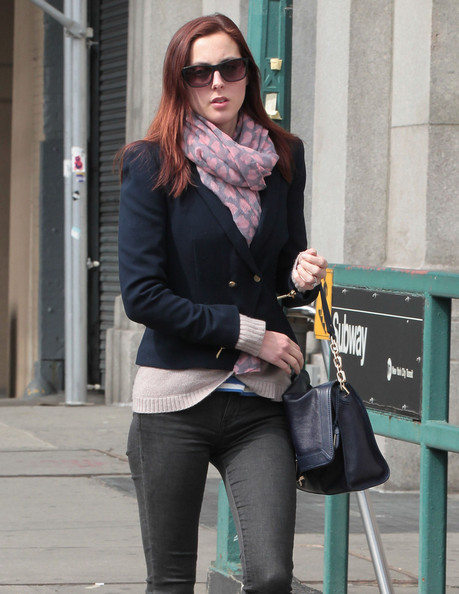 Eva Amurri Martino Patterned Scarf