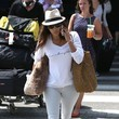 Eva Longoria in basic white.