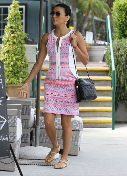 Eva Longoria Day Dress
