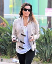 Eva Longoria accessorized with a pair of Tom Ford Jennifer sunglasses while out and about in Beverly Hills.