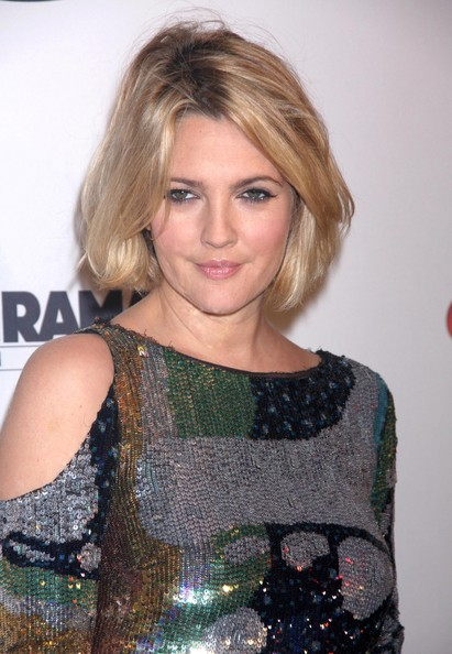 More Pics of Drew Barrymore Bob (1 of 13) - Drew Barrymore Lookbook - StyleBistro