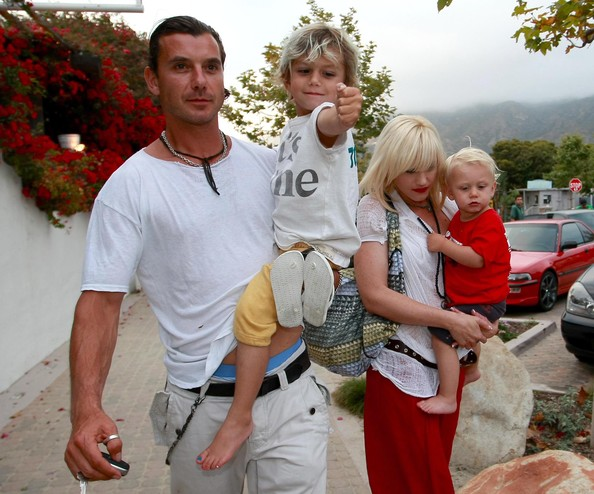 Gavin Rossdale Layered Chainlink Necklaces []