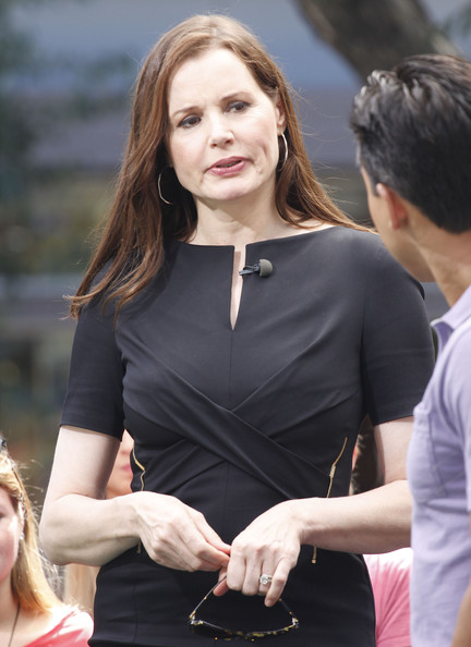 More Pics of Geena Davis Little Black Dress (3 of 12) - Geena Davis Lookbook - StyleBistro