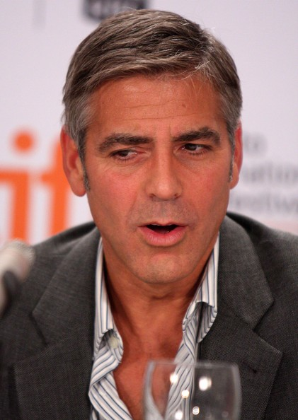 George Clooney Short Side Part