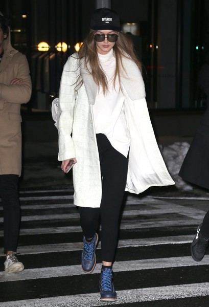 Gigi Hadid Lace Up Boots