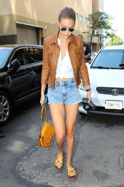 Gigi Hadid Leather Jacket